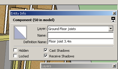 SketchUp Components and Groups